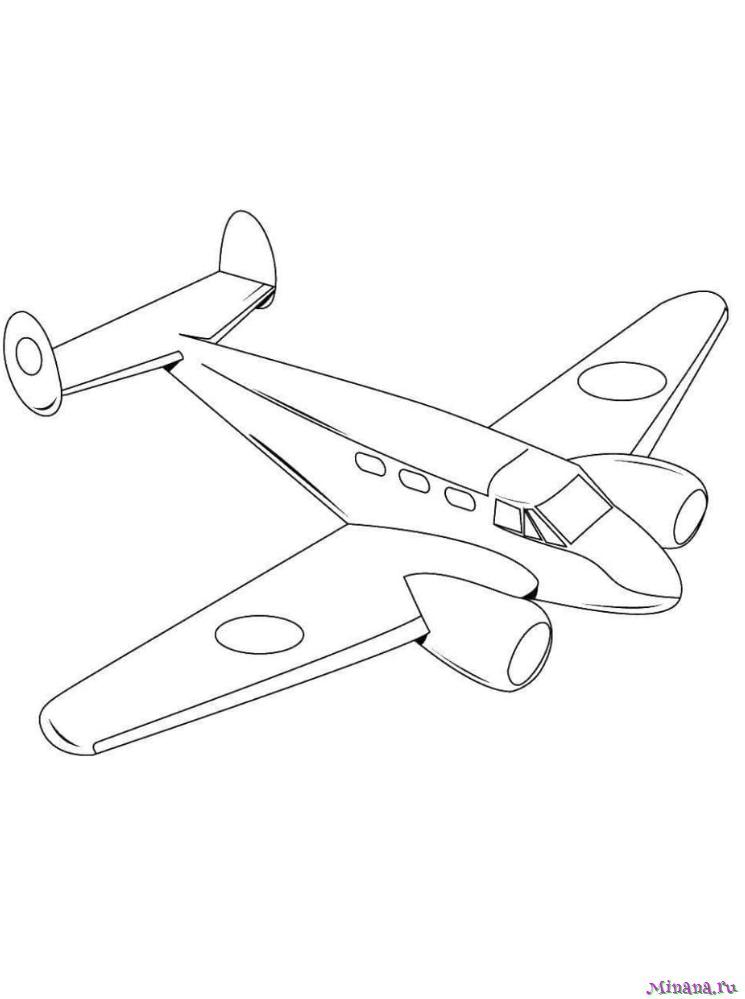 Небольшой пассажирский самолёт