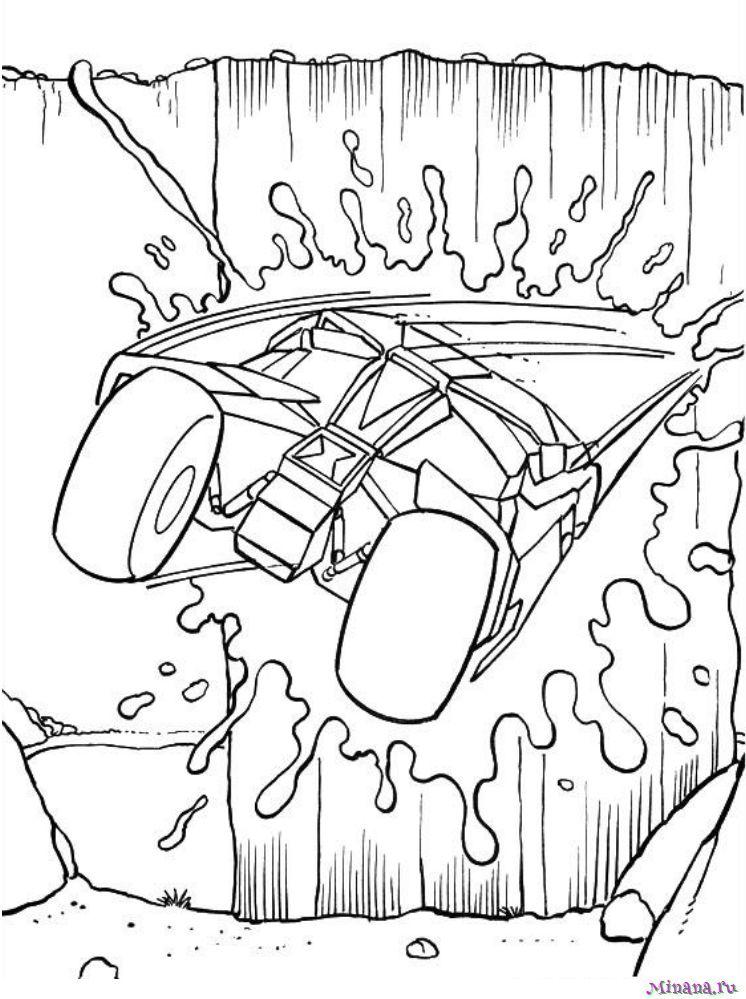Раскраска Бэтмен 17