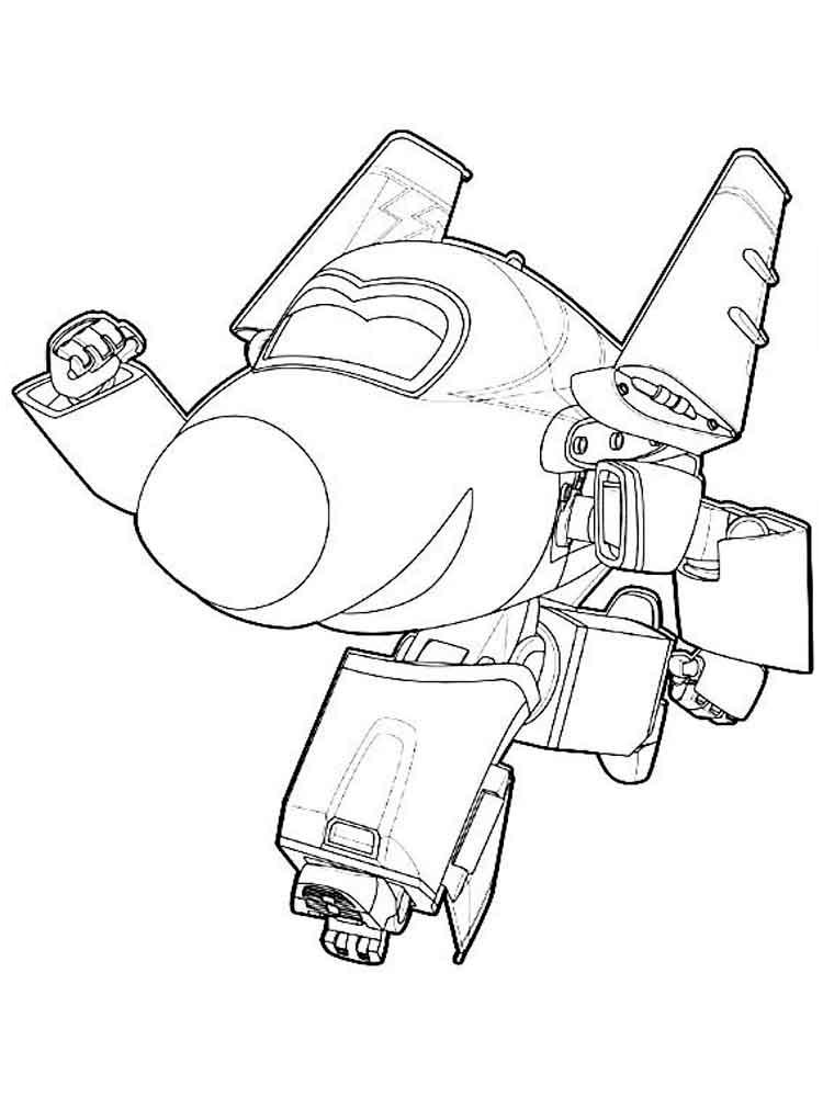 Раскраска Супер Крылья 8